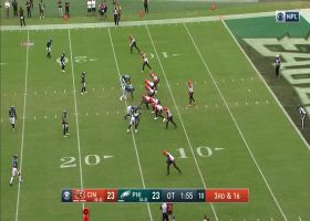 Fletcher Cox buries Joe Burrow for Eagles' EIGHTH sack