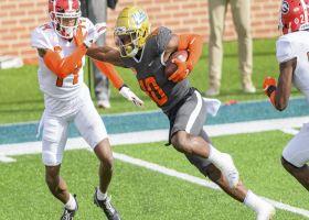 Demetric Felton turns quick pass into first TD of '21 Senior Bowl