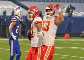 Travis Kelce uses double move on Edmunds for TD grab