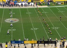 JoJo Natson's 30-yard kickoff return gives Rams good field position