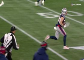 Rex Burkhead turns Tom Brady's lob into big 31-yard gain