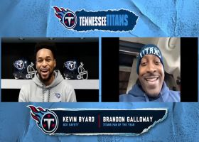 2020 NFL Fan of the Year Finalist – Brandon Galloway – Titans