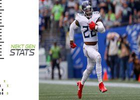 Titans' top 5 plays through quarter mark of 2021 season | Next Gen Stats