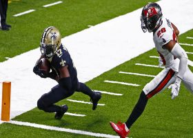 Emmanuel Sanders slips would-be tackle for first TD with Saints