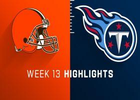 Browns vs. Titans highlights | Week 13