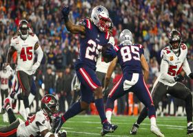 Pats' tricky throwback from Meyers to Boldin nearly picks up third-and-17