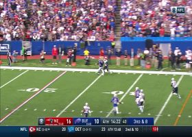 John Brown boxes out Stephon Gilmore for crazy one-hand grab