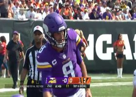 Adam Thielen's route leaves CB in the dirt on quick TD