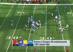 Brandt reveals rare record that Chargers broke vs. Browns | 'GMFB'