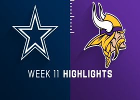 Cowboys vs. Vikings highlights | Week 11