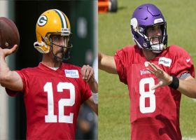 Rodgers vs. Cousins: Who will have more total yards in Week 1?