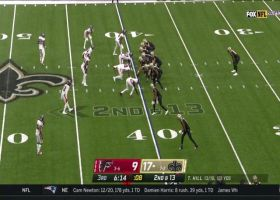 Taysom Hill rips dart to Michael Thomas for 19 yards