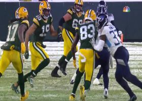 Malcolm Butler jumps Aaron Rodgers' cross-body pass for key INT