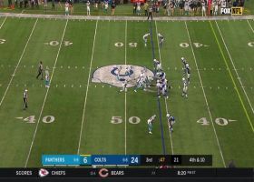 Panthers roll the dice on fake punt for sneaky fourth-down pickup