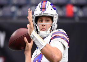 NFL Network Insider Ian Rapoport: Buffalo Bills quarterback Josh Allen is week-to-week with injury, could miss time
