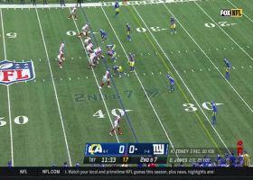 Kadarius Toney scurries downfield on 16-yard catch and run
