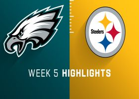 Eagles vs. Steelers highlights | Week 5