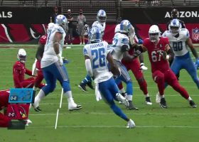 Duron Harmon locates Kyler's pass for his first Lions INT