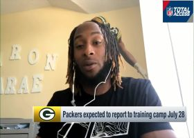 Aaron Jones reacts to Packers drafting RB in Round 2