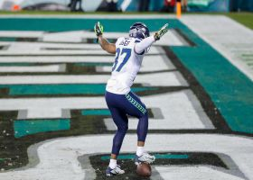Fly, Seahawks, Fly! Diggs celebrates after end-zone INT on fourth down