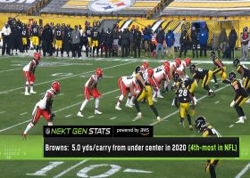 Next Gen Stats: Analyzing Browns' run tendencies ahead of showdown with KC