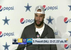 Dak Prescott recaps Cowboys' Week 2 win over Chargers