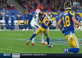 Jared Goff slings deep dime over middle to Josh Reynolds for 30 yards