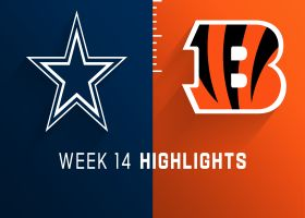 Cowboys vs. Bengals highlights | Week 14