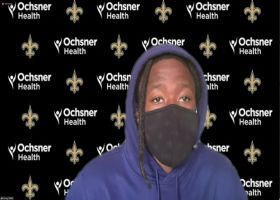 Alvin Kamara reacts to Week 1 opener vs. Packers moving to Jacksonville