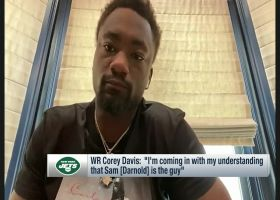 Corey Davis: 'My understanding' is Sam Darnold will be Jets' starter