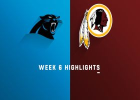 Panthers vs. Redskins highlights | Week 6