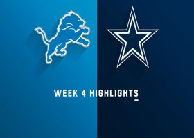 Lions vs. Cowboys highlights | Week 4