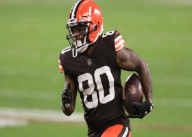 Browns rub routes to free up Landry for big fourth-down pickup