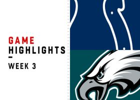 Colts vs. Eagles highlights | Week 3