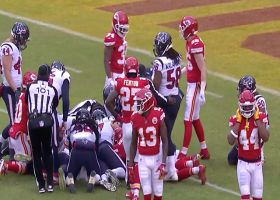 Houston, we have a turnover! Texans recover Chiefs' muffed punt at 6-yard line