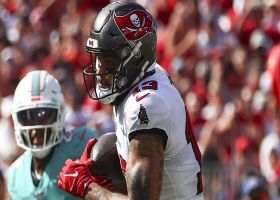 Mike Evans picks up 26 yards on impressive route