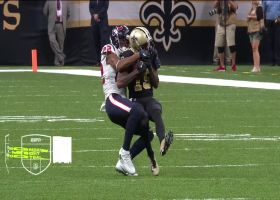 Brees dials long distance to Ginn on third down for HUGE 41-yard pickup
