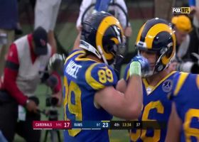Higbee high step! Rams TE celebrates TD with dance in end zone