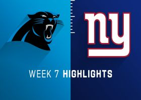Panthers vs. Giants highlights | Week 7