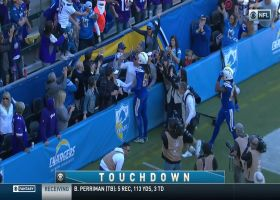 Rivers throws high-ball for Mike Williams leaping TD snag