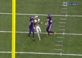 Anthony Harris gets MAJOR air to pick off Drew Brees' deep ball