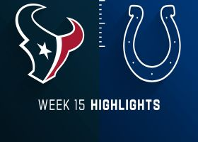Texans vs. Colts highlights | Week 15