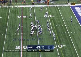 Russell Wilson fires 15-yard TD laser to DK Metcalf