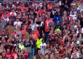 A.J. Green gives DB piggyback ride on strong 34-yard catch and run