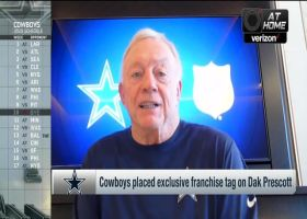 Jerry Jones: CeeDee Lamb can 'keep in step' with great No. 88 WRs