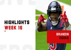 Every catch by Brandin Cooks from 141-yard game | Week 16