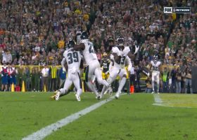 Nigel Bradham intercepts tipped Rodgers pass to seal 'TNF' win