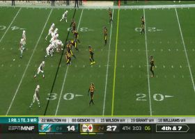 Cam Heyward clamps down on Ryan Fitzpatrick for fourth-down sack
