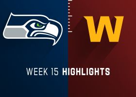 Seahawks vs. Washington highlights | Week 15