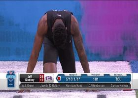 Jeff Gladney runs official 4.48 second 40-yard dash at 2020 combine